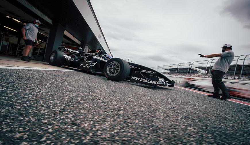 Superleague Formula stand